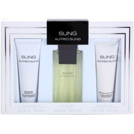 Alfred Sung Sung lote de regalo I. eau de toilette 100 ml + gel de ducha 75 ml + leche corporal 75 ml