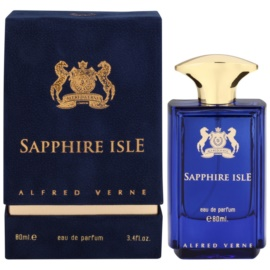 Alfred Verne Sapphire Isle eau de parfum férfiaknak 80 ml