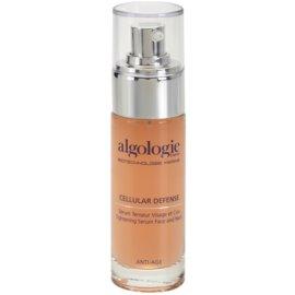 Algologie Cellular Defense serum za glajenje za obraz in vrat  30 ml