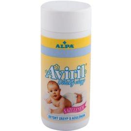 Alpa Aviril dětský zásyp s azulenem  100 g