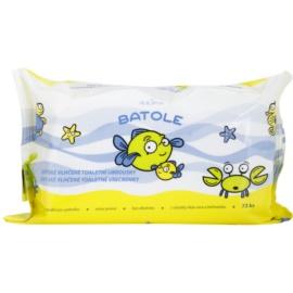 Alpa Batole finom nedves törlőkendők gyermekeknek aleo verával  72 db