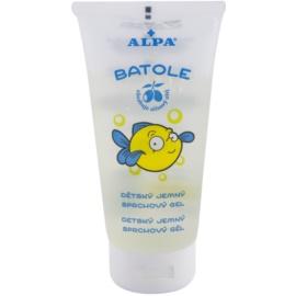 Alpa Batole dětský jemný sprchový gel s olivovým olejem  150 ml