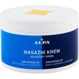Alpa Massage Massagecreme  250 ml