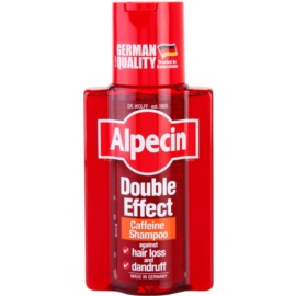 Alpecin Double Effect Koffein Shampoo für Männer gegen Schuppen und Haarausfall  200 ml