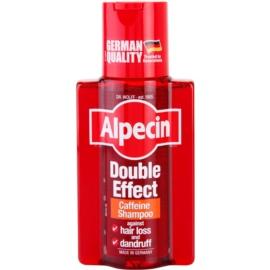 Alpecin Double Effect champô de cafeína para homens anticaspa e antiqueda de cabelo  200 ml