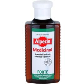 Alpecin Medicinal Forte tónico intensivo  anticaspa e antiqueda de cabelo  200 ml