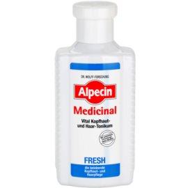 Alpecin Medicinal Fresh osvěžující tonikum pro mastnou pokožku hlavy  200 ml