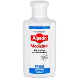 Alpecin Medicinal Fresh lotion tonique rafraîchissante pour cuir chevelu gras  200 ml