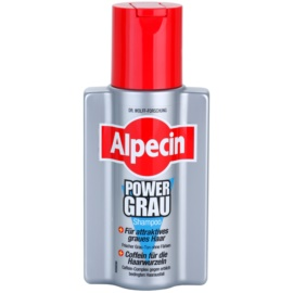 Alpecin Power Grau šampon pro zvýraznění šedých odstínů vlasů  200 ml