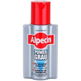 Alpecin Power Grau Shampoo voor Versterking van Grijze Tinten   200 ml