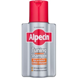 Alpecin Tuning Shampoo shampoing colorant premiers cheveux blancs  200 ml