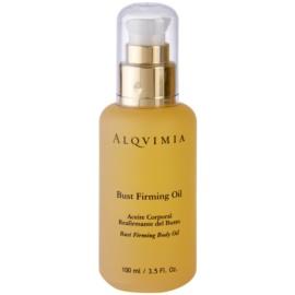 Alqvimia Decollete & Bust spevňujúci olej na poprsie  100 ml