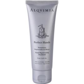 Alqvimia Hand & Nail Care regenerierende Creme für Hände und Fingernägel  75 ml