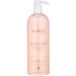 Alterna Bamboo Volume après-shampoing pour donner du volume sans silicones ni sulfates  1000 ml