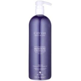 Alterna Caviar Moisture après-shampoing hydratant pour cheveux secs sans sulfates ni parabènes  1000 ml