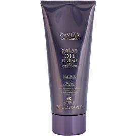 Alterna Caviar Moisture Intense Oil Creme feuchtigkeitsspendender Conditioner für sehr trockenes und sprödes Haar  207 ml