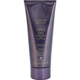 Alterna Caviar Moisture Intense Oil Creme hidratáló kondicionáló nagyon száraz és durva hajra  207 ml