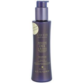 Alterna Caviar Moisture Intense Oil Creme odżywcze preludium pielęgnacyjne do bardzo suchych włosów bez siarczanów i silikonów  125 ml