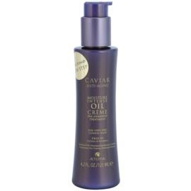 Alterna Caviar Moisture Intense Oil Creme tratament pre-sampon pentru parul foarte uscat fără sulfați și parabeni  125 ml