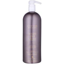 Alterna Caviar Moisture Intense Oil Creme shampoing pour cheveux très secs  1000 ml