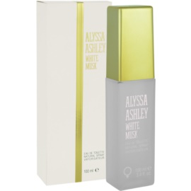 Alyssa Ashley Ashley White Musk Eau de Toilette para mulheres 100 ml