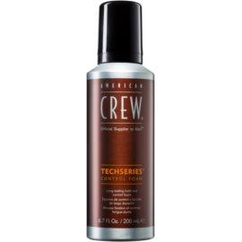 American Crew Techseries mousse coiffante pour une fixation longue durée  200 ml