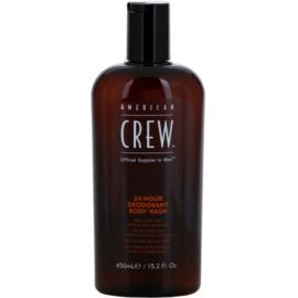 American Crew 24 Hour Duschgel mit der Wirkung eines Deos 24 h  450 ml