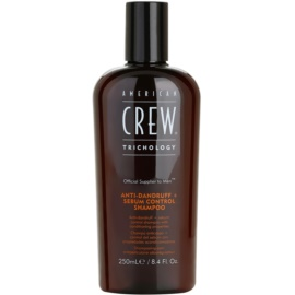 American Crew Trichology Shampoo gegen Schuppen zur Regulierung der Talgproduktion  250 ml