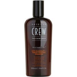 American Crew Trichology šampon proti lupům na regulaci kožního mazu  250 ml