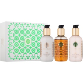 Amouage Epic poklon set II. gel za tuširanje i kupanje 100 ml + mlijeko za tijelo 100 ml + krema za ruke 100 ml