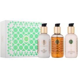 Amouage Epic dárková sada II. sprchový a koupelový gel 100 ml + tělové mléko 100 ml + krém na ruce 100 ml