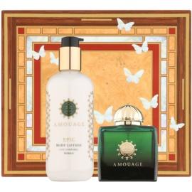 Amouage Epic dárková sada II. parfémovaná voda 100 ml + tělové mléko 300 ml