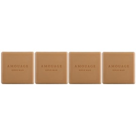 Amouage Gold parfémované mýdlo pro muže 4 x 50 g
