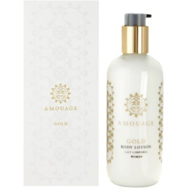 Amouage Gold leche corporal para mujer 300 ml