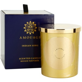 Amouage Indian Song bougie parfumée 195 g