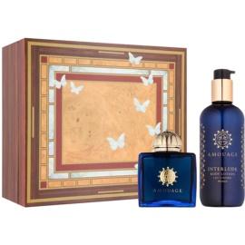 Amouage Interlude ajándékszett I.  Eau de Parfum 100 ml + testápoló tej 300 ml