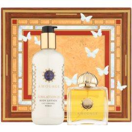 Amouage Jubilation 25 Woman confezione regalo I. eau de parfum 100 ml + latte corpo 300 ml