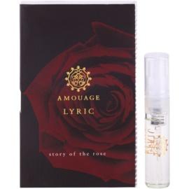 Amouage Lyric Eau De Parfum pentru barbati 2 ml