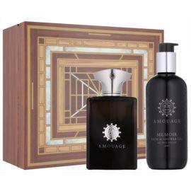 Amouage Memoir dárková sada III. parfémovaná voda 100 ml + sprchový gel 300 ml