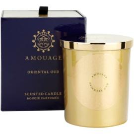Amouage Oriental Oud świeczka zapachowa  195 g