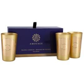 Amouage Silk Road подаръчен комплект I. свещ 3 x 55 g