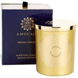 Amouage Spring Sonata vonná sviečka 195 g