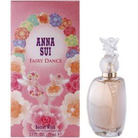 Anna Sui FairyDanceSecret Wish Eau de Toilette voor Vrouwen  75 ml