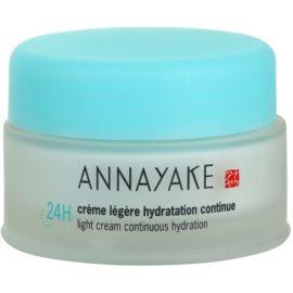 Annayake 24H Hydration crema ligera con efecto humectante  50 ml