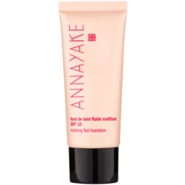 Annayake Face Make-Up lehký matující make-up SPF 10 odstín 10 Clair  30 ml