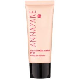 Annayake Face Make-Up lehký matující make-up SPF 10 odstín 10 Clair  30 ml