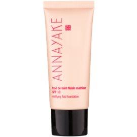 Annayake Face Make-Up könnyű mattító make-up SPF 10 árnyalat 10 Clair  30 ml