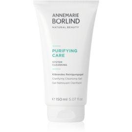 AnneMarie Börlind Purifying Care Reinigungsgel  für unreine Haut  150 ml