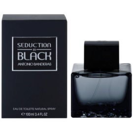 Antonio Banderas Seduction in Black Eau de Toilette para homens 100 ml