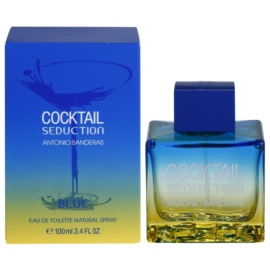 Antonio Banderas Cocktail Seduction Blue toaletna voda za moške 100 ml